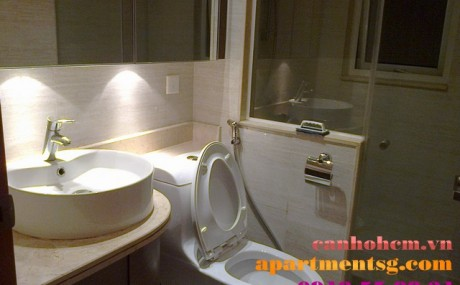 Apartment for rent in Sai Gon Pearl Ruby 2 not full furniture