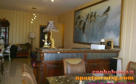 Apartment for rent in Sai Gon Pearl Ruby 1 - apartment in saigon pearl
