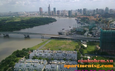 Apartment for rent in Sai Gon Pearl, Ruby 2,